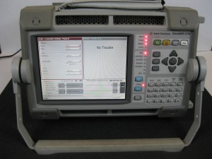 Agilent J7231B OmniBER OTN Communications performance analyzer & jitter