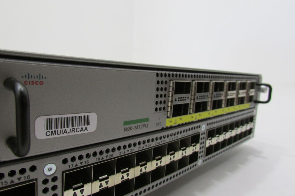 New Cisco N9K-9396PX with N93-LAN1K9 Enhanced Layer 3 – license